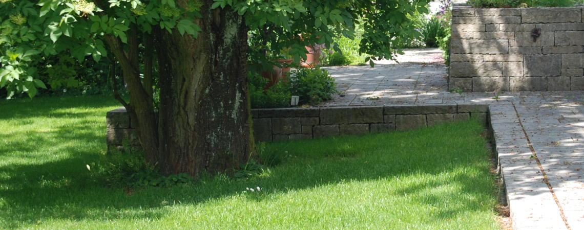 Gartenausschnitt aus dem Raum Ingolstadt